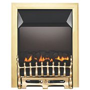 Focal Point Blenheim Flueless Gas Fire Brass Inset 2.3kW