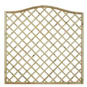 Forest Hamburg Open-Lattice Fence Panels 1.8 x 1.8m Pack of 6