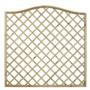 Forest Hamburg Open-Lattice Fence Panels 1.8 x 1.8m Pack of 6