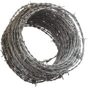Apollo mm Steel Barbed Wire x 25m