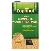Cuprinol 5 Star Complete Wood Treatment Clear 5Ltr