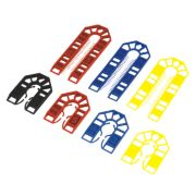 Broadfix Assorted Plastic Shims Medium 100 Piece Set