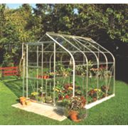 Halls Supreme 86 Aluminium Greenhouse Toughened Glass 6