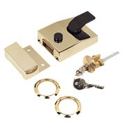 Yale 89 Night Latch Brass 60mm Backset