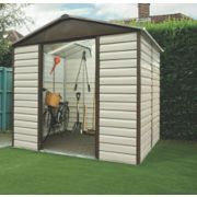 Yardmaster Shiplap Sliding Door Apex Shed 8 x 6 x