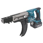 Makita DFR750RFE 18V 3.0Ah Li-Ion Cordless Auto-Feed Screwdriver