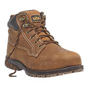 Site Clay Safety Boots Tan Size 8