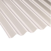 "Vistalux Corolux ASB 3""Corrugated PVC Sheet Clear 1830mm x 762mm"