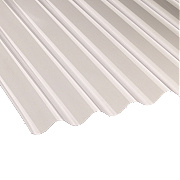 Vistalux Corolux Corrugated PVC Sheet Clear 1830 x 762mm