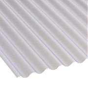 Corolux Mini-Corrugated PVC Sheet Translucent 3050 x 662mm