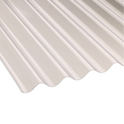 Vistalux Corolux Corrugated PVC Sheet Clear 2440 x 762mm