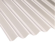 Vistalux Corolux Corrugated PVC Sheet Clear 3050 x 762mm