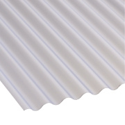 Corolux Mini-Corrugated PVC Sheet Translucent 2440 x 662mm