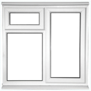 STF AS Double Glazed uPVC Window Opaque 1200 x 1050mm