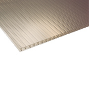 Corotherm Triplewall Polycarbonate Sheet Bronze 700 x 16 x 4000mm