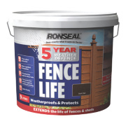 Ronseal 5 Year Weather Defence Fencelife Dark Oak 9Ltr