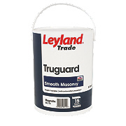 Leyland Trade Truguard Smooth Masonry Paint Magnolia 5Ltr