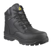 Amblers FS006C Metal Free Safety Boots Black Size 8