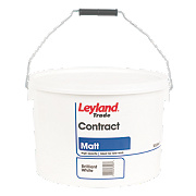 Leyland Trade Contract Matt Emulsion Paint Brilliant White 10Ltr