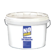No Nonsense Bathroom Tile Adhesive Beige 12Ltr