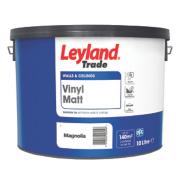 Leyland Trade Vinyl Matt Emulsion Paint Magnolia 10Ltr