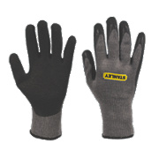 Stanley Builders Gloves Grey Large