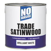 No Nonsense Trade Satinwood Brilliant White 2.5Ltr