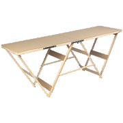 Professional MDF Top Pasting Table 2000 x 560 x 800mm