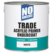 No Nonsense Trade Acrylic Primer Undercoat White 2.5Ltr