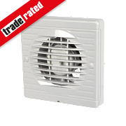 Manrose XF100S 20W Axial Bathroom Fan