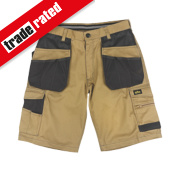 Site Hound Multi-Pocket Shorts Stone/Black 30
