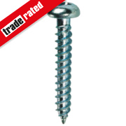 Quicksilver Woodscrews Roundhead 8ga x 1½