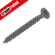 TurboGold XT Green Ruspert Finish XT Screws Double Flat Head 4x40mm Pk200