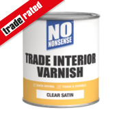 No Nonsense Quick-Dry Varnish Satin Clear 750ml