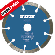 Erbauer Segmented Diamond Blade 125 x 1.9 x 22.23mm