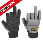 Stanley Performance 3-Finger Framer Gloves Grey Large