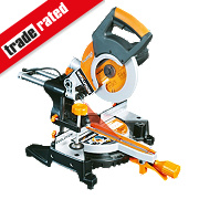 Evolution RAGE3-S 210mm Sliding Compound Mitre Saw 110V