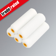 No Nonsense Gloss Mini Roller Sleeves Foam Pile 4
