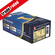 Multi-Fix Gold Concrete Screw Trade Pack