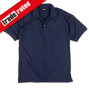 "Site Pepper Polo Shirt Navy Large 42-44"" Chest"