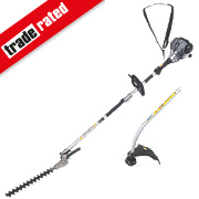 Titan TTL488GDO 1.07hp 25cc Bent Shaft Petrol 2-in-1 Grass & Hedge Trimmer