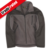 Site Fleece Jacket Grey/Black Medium 39