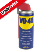 WD-40 Multipurpose Aerosol Lubricant with Smart Straw 400ml