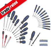Screwdriver Set Chrome Vanadium 49Pc