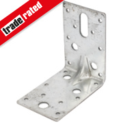 Heavy Duty Angle Brackets Galvanised 90 x 63mm Pk25