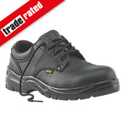 Site Coal Safety Shoes Black Size 8