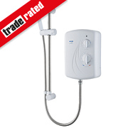 Triton Enrich Manual Electric Shower White 9.5kW