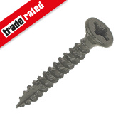 TurboGold XT Green Ruspert Finish XT Screws Double Flat Head 4x30mm Pk200