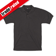 "Site Pepper Polo Shirt Black Large 42-44"" Chest"