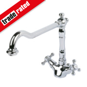 Swirl Fiore Mono Mixer Kitchen Tap Chrome
